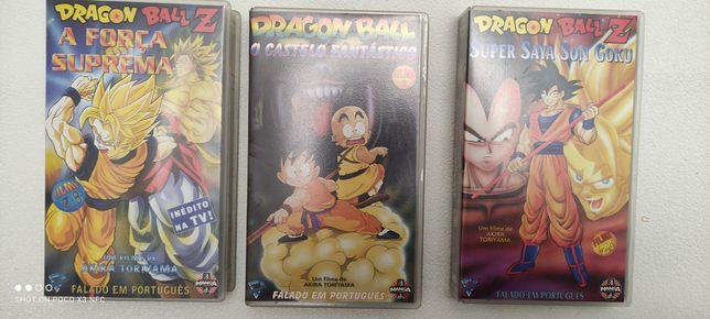 Cassetes VHS DragonBall
