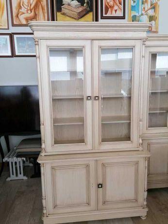 Vitrine / Louceiro com 1.25 em madeira com 2 portas madeira