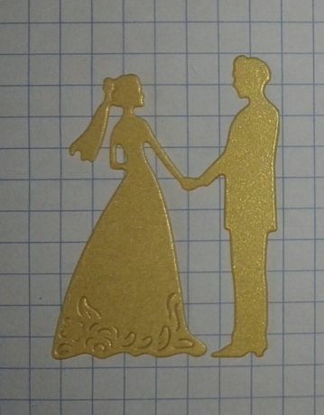 Scrapki, para ślubna