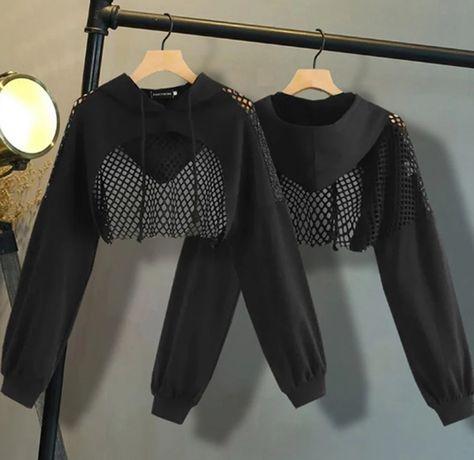 Nowa bluzka gotycka r L