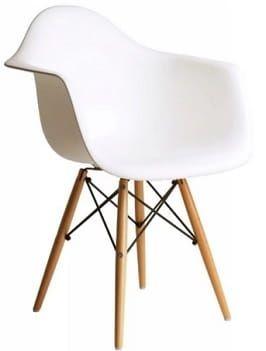 krzesła skandynawskie białe