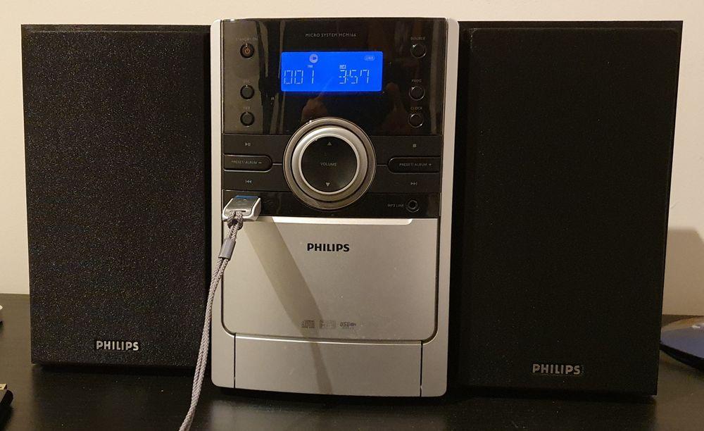 Miniwieża Philips USB MCM 166 z pilotem i kolumnami ( bez CD ) Kalisz - image 1