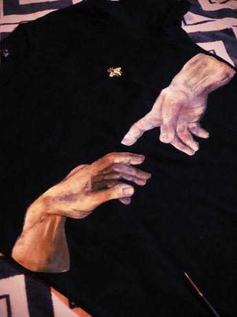 Кастомизация - Роспись одежды и обуви - Рисунок / Розпис / Малюнок