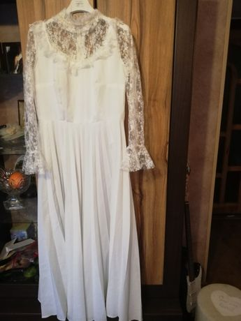 Suknia ślubna retro r. 38