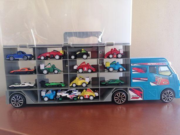 Camião mala garagem c/ carrinhos