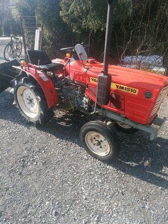 Mini traktor JANMAR YM1510 15KM plus przyczepą i płóg