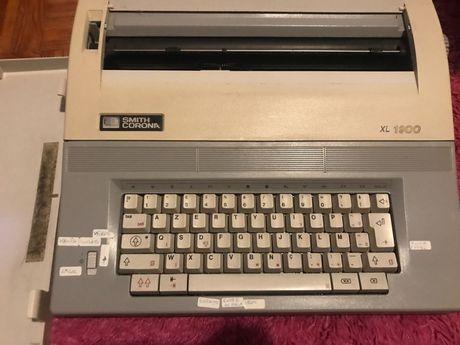 Maquina de escrever antiga Smith Corona XL 1900