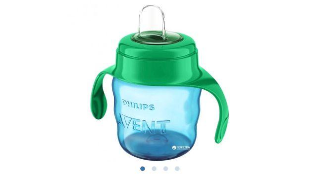 Чашка-непроливайка Philips AVENT с мягким носиком 200 мл 6 мес+ Cине-з