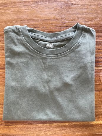 T-shirt verde seca H&M
