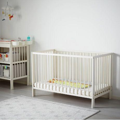 Łóżeczko dla niemowląt/dzieci+materac+karuzelka