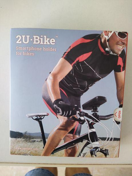 Suporte de telemóvel para bicicleta 120 x 85 x 20 (mm)