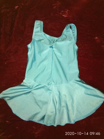 Одежда для девочек, купальник для танцев, р.30