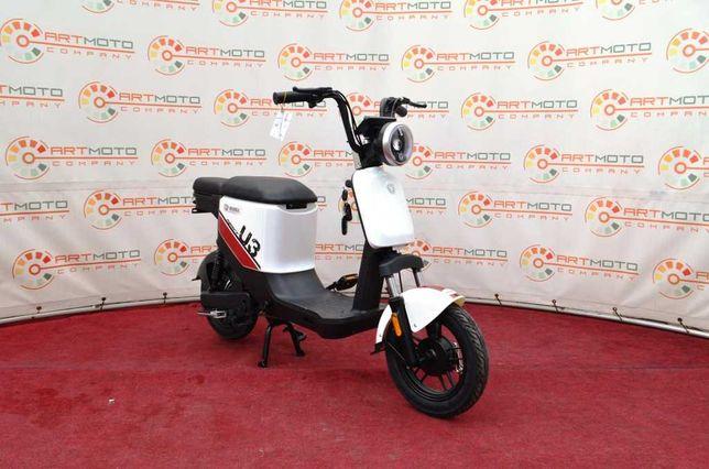 Новый электроскутер YADEA U3 500W НОВИНКА Официально в АРТМОТО скутер