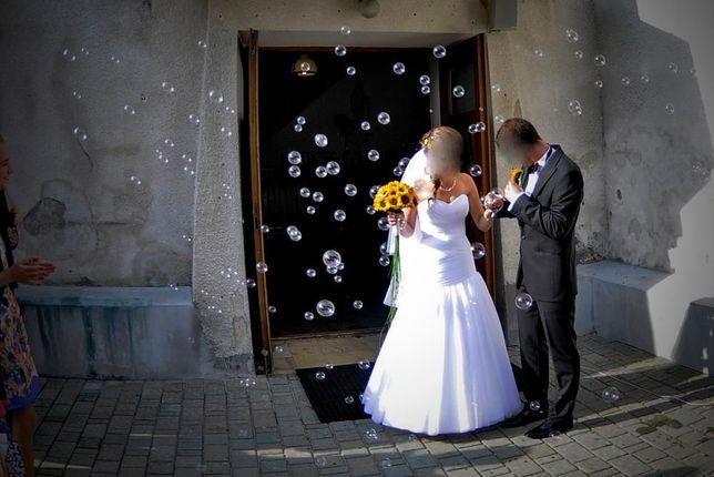 Zjawiskowa suknia ślubna PROMOCJA