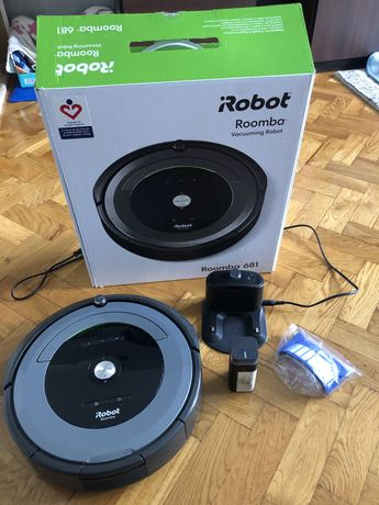 Odkurzacz irobot Roomba 681 zestaw okazja