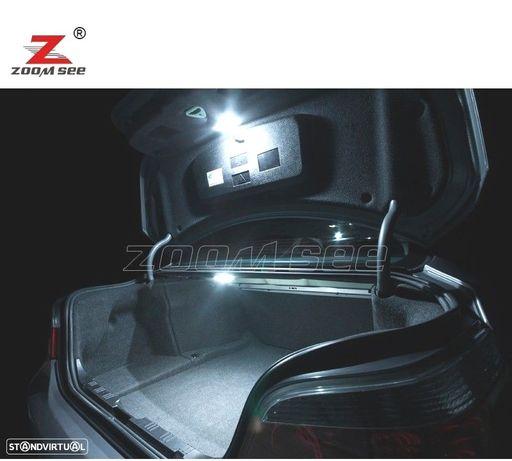 KIT COMPLETO DE 19 LÂMPADAS LED INTERIOR PARA BMW 5 SERIE E34 SALOON 518I 520I 524TD 525I 525IX 525