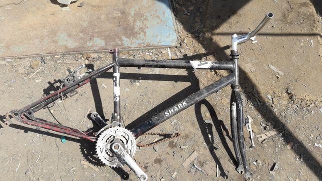 """Рама велосипедная под 24"""""""