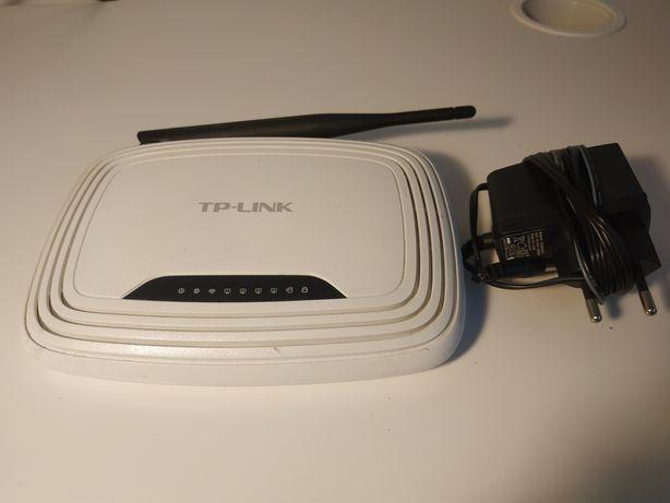 Router TP-Link TL-WR740N + zasilacz 9V 0,6A