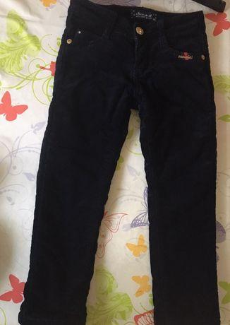 Seagull утеплённые вельветовые брюки для девочки