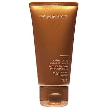Солнцезащитный регенерирующий крем academie bronzecran face age  cream