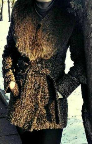 Пальто зимове, розмір 44
