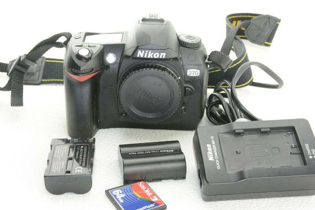 Maquina DSLR Nikon D70 preparada para fotografia infravermelho +extras