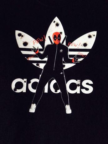 koszulka t-shirt ADIDAS roz. M/L gangsta style! prosto z USA