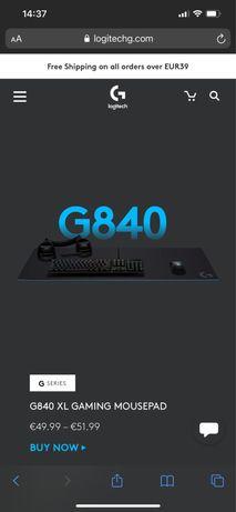Vendo G840 XL Gaming Mousepad, como novo , nunca utilazado .