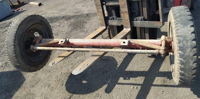 Oś Belka Ciężarowa Rozrzutnik Przyczepa Star 6.50 Cala R20 C Koła