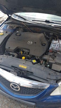 Silnik kompletny Mazda 6 2,0 D 1998 r. 89 kW