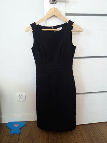 Sukienka czarna H&M rozmiar 34