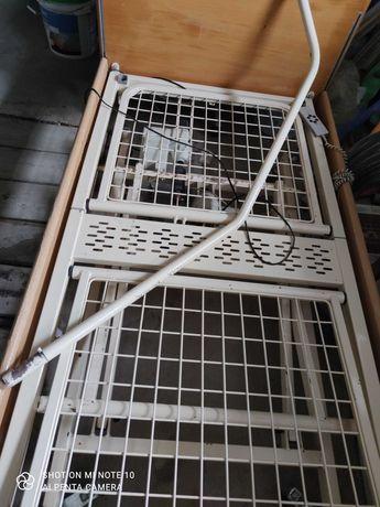 Łóżko rehabilitacyjne elektryczne + materac przeciwodleżynowy+stolik