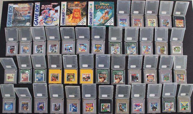 Nintendo Game Boy / Advance Jogos Originais Pal