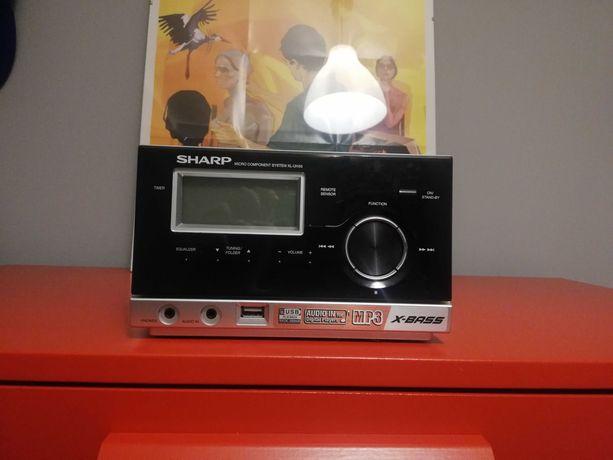 Amplituner Wzmacniacz SHARP XL-UH05 wbudowan CD MP3 RADIO AUX USB BDB