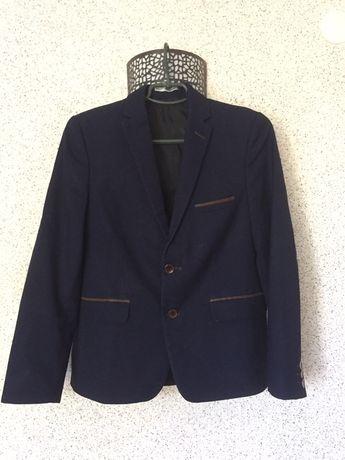 Стильный пиджак в школу, піджак West-Fashion, жакет на р. 158 на 11-14