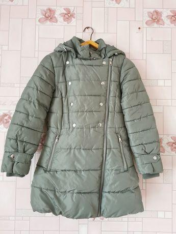 Пальто зимнее на девочку 10 лет