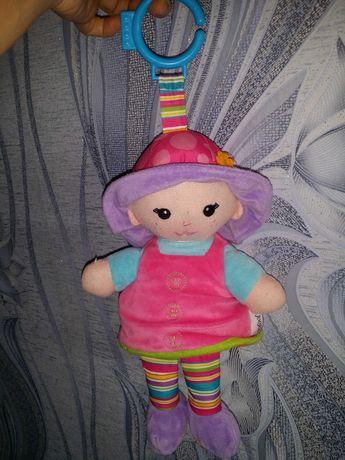 Кукла подвеска на коляску кроварку или манеж