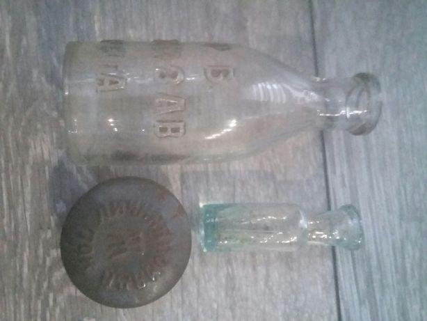 Stare rosjskie butelki