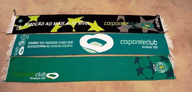 Cachecóis (alusivos ao) Sporting Clube de Portugal