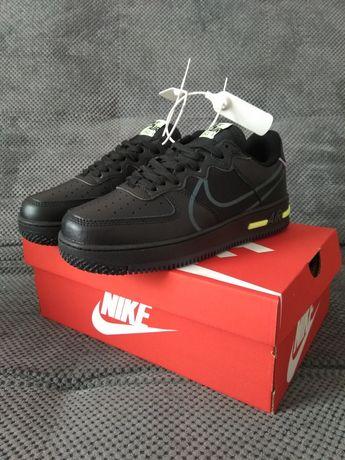 Nike Air Force 1 React 'Black