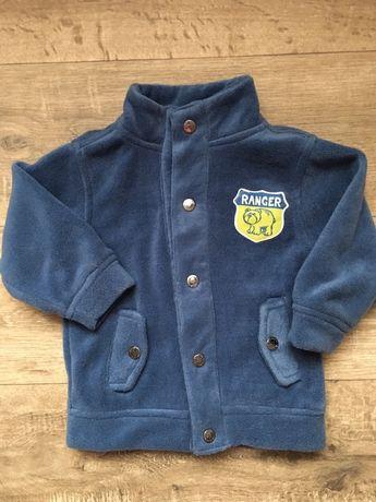 Флисовая демисезонная курточка на 18 мес