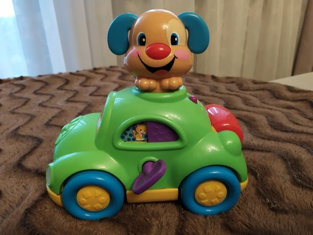 Zabawka fisher price autko szczeniaczka