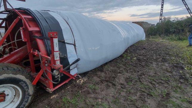 Usługa gniecenia i pakowania kukurydzy w rękaw