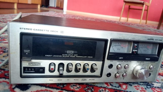 Odtwarzacz kaset Superscope CD-310