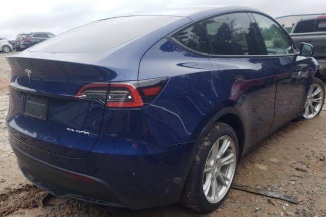 Tesla model Y запчасти Тесла S 3 X разборка дверь крыло четверть капот