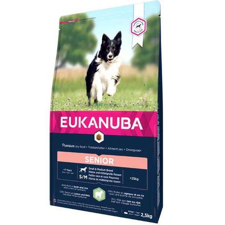 Eukanuba Senior Small & Medium - Borrego 12kg