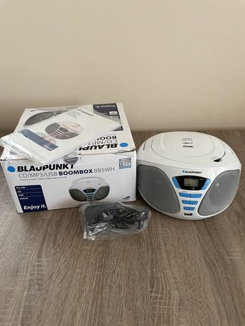 Sprzedam NOWY Boombox CD/MP3/USB Blaupunkt BB5WH
