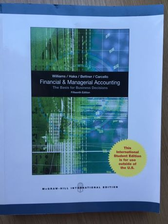 Livro Financial and Managerial Accounting