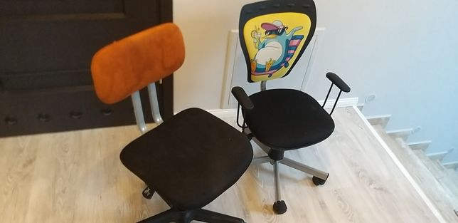 Krzesła dla dzieci.