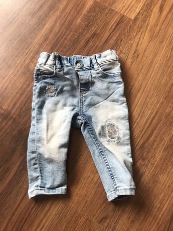 Jeansy h&m 68